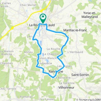 Itinéraire confortable en La Rochefoucauld