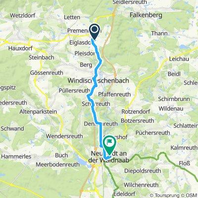 Gemütliche Route in Neustadt an der Waldnaab