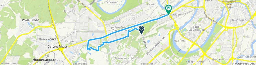 Велокурьерский забор с Верейской улицы (Можайский район)