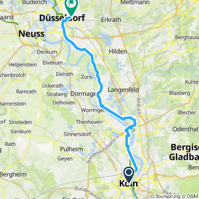 Cologne to Dusseldorf