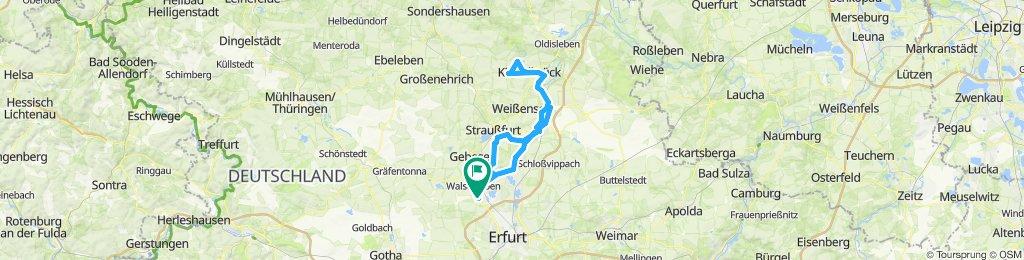 Elxleben - Frömmstedt - Elxleben