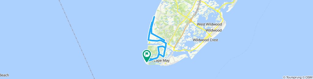 Cape May Point 30 km