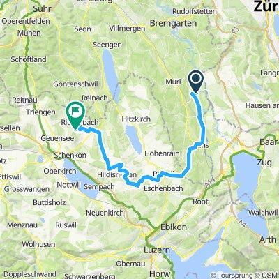 Merenschwand - Rickenbach