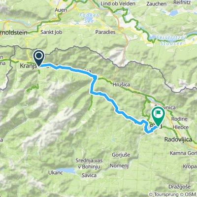 Tag 7: Kranjska Gora - Mojstrana -Radovna - Bled