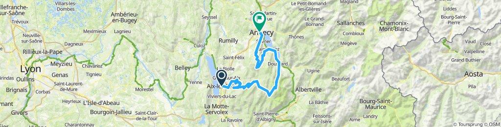 Aix-les-Bains - Annecy