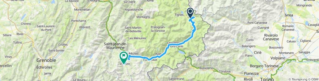 Route des Grandes Alpes 3 Val d'Isere - Valloire