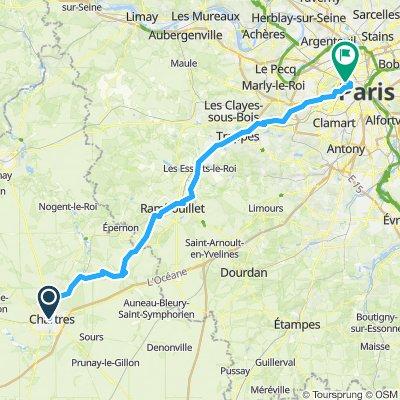 Chartres - Paris