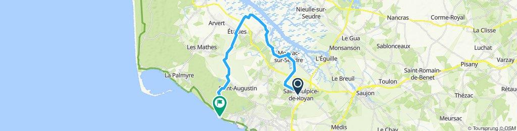 Itinéraire modéré en Saint-Sulpice-de-Royan