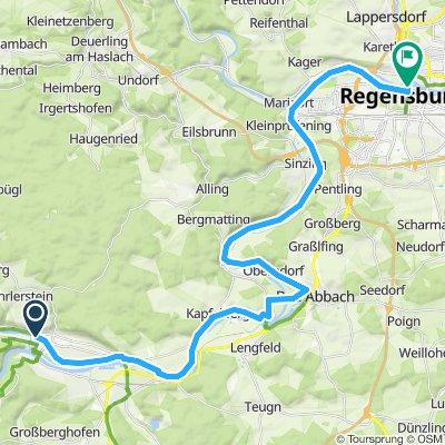 Kelheim - Regensburg