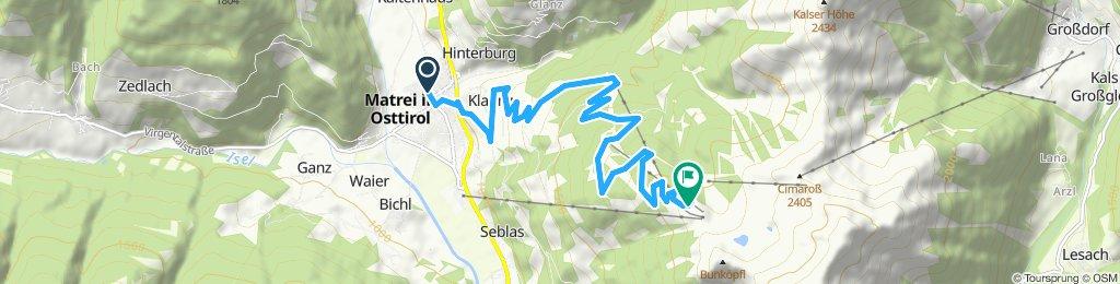 Klaunzer Berg in Matrei in Osttirol