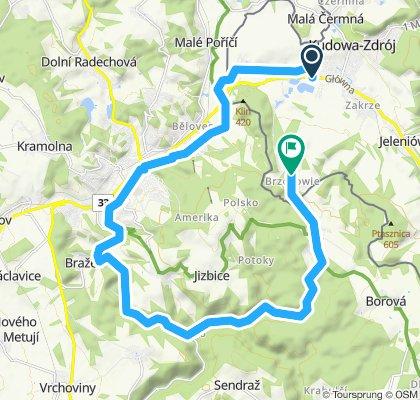Steady ride in Kudowa-Zdrój