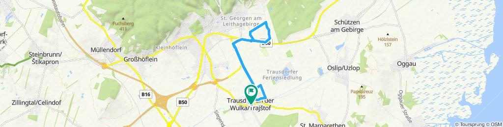 Gemütliche Route in Trausdorf an der Wulka