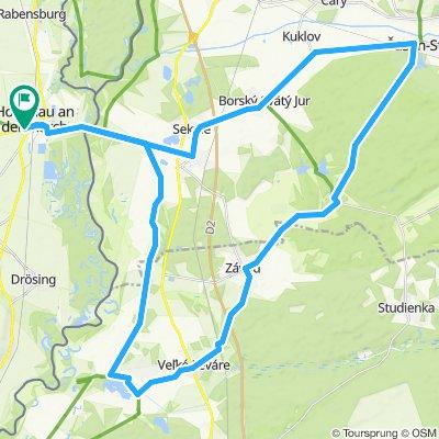 Hohenau-Sastin-Zavod-Rudava-Hohenau