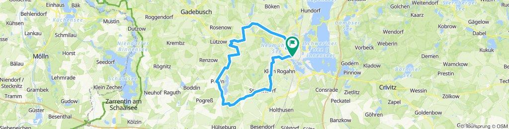 Schwerin-Rundtour: Parum - Brüsewitz
