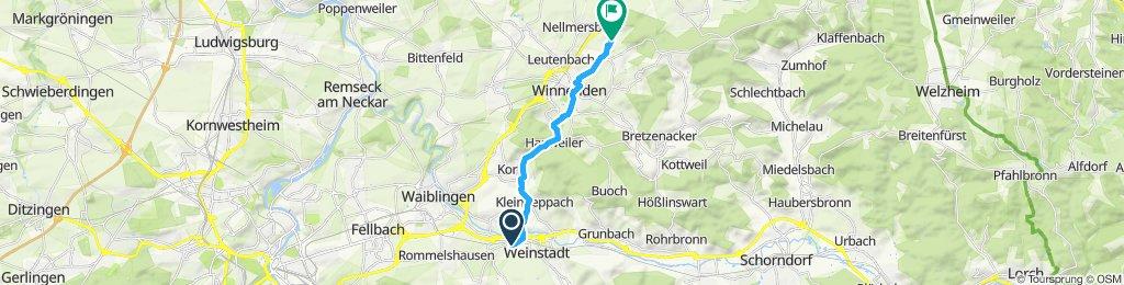 Gemütliche Route in Winnenden