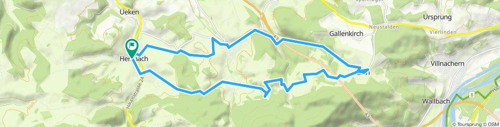 Gemütliche Route in Herznach