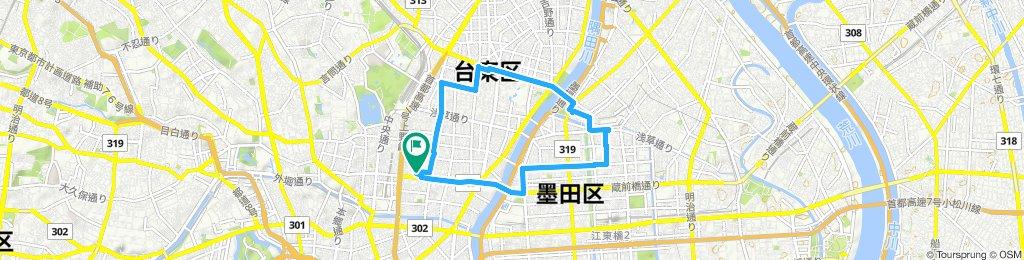 Slow ride in Taito-Ku