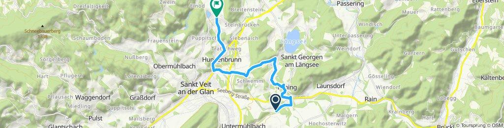 Langsame Fahrt in Frauenstein