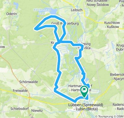 Herrliche Tour durch den Unter,-und Oberspreewald