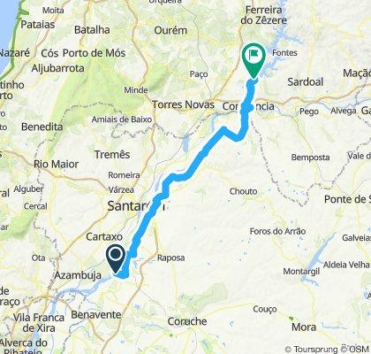 Setúbal -> Castelo de Bode (dia 2)