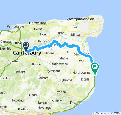 Canterbury to Deal NCR 1