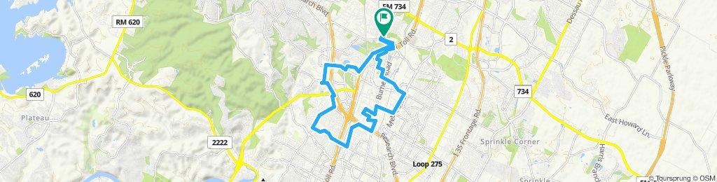 Justin's NASB Route