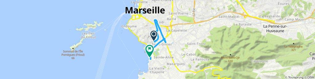 domenica mattina in Marsiglia
