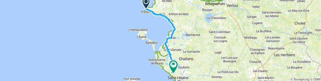 La Plaine sur Mer- Saint Jean de Monts