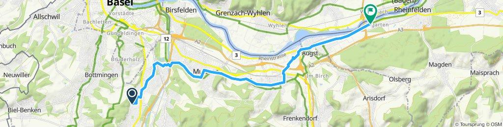 Moderate route in Rheinfelden