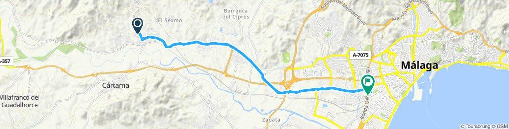 Málaga - Estación de Cartama
