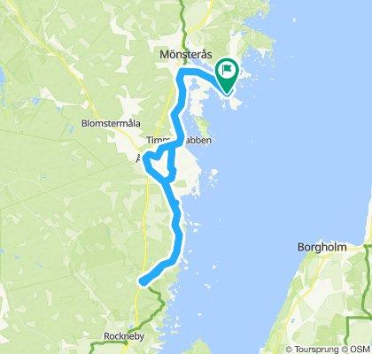 Oknö - Pataholm - Karemo - Alem - Mönsteras