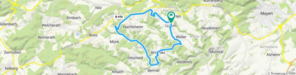 Gemütliche Route in Weiler