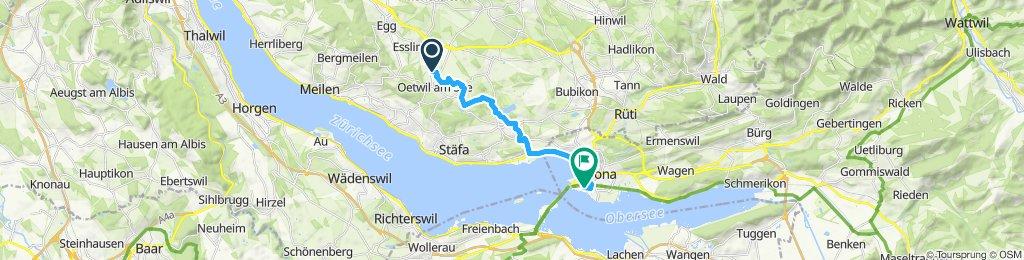 Slow ride in Rapperswil-Jona