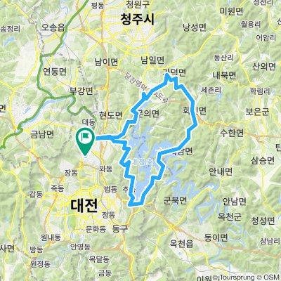 추동-피반령-대청댐