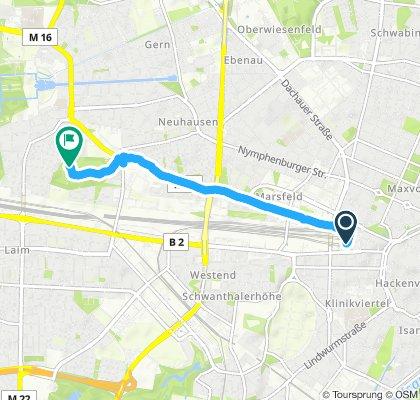Hbf München - Hirschgarten