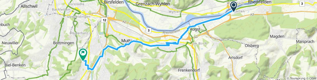 Easy ride in Reinach BL