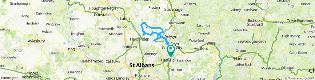 Moderate route in Hatfield