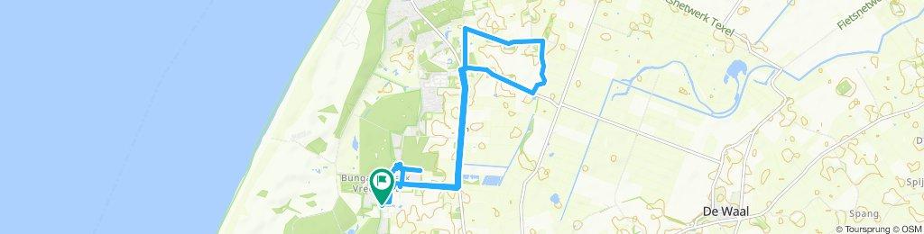 Gemütliche Route in De Koog 1