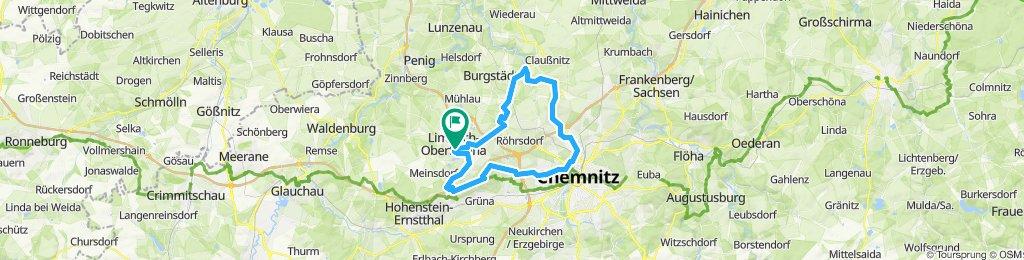 chemnitztal über totenstein andresrum 18.08.2019
