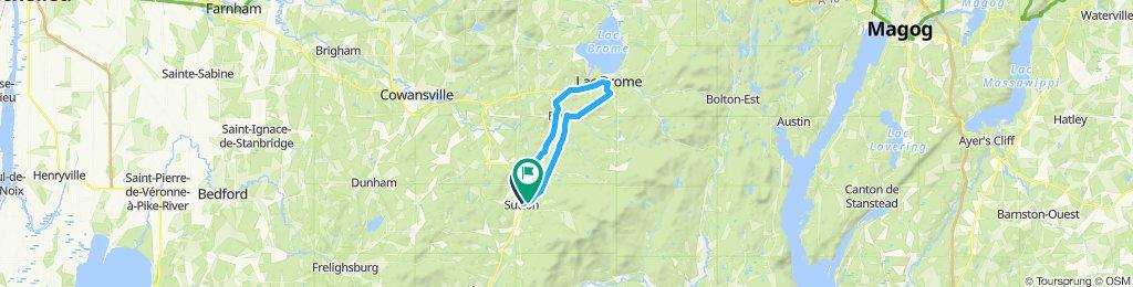 Moderate route in Sutton
