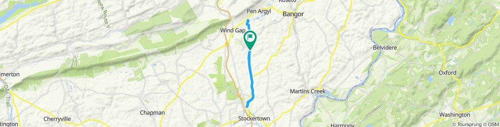 Steady ride in Pen Argyl