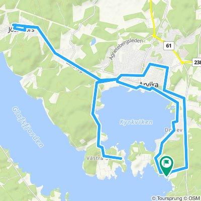 Arvika - Kyrkviken-See - Jössefors
