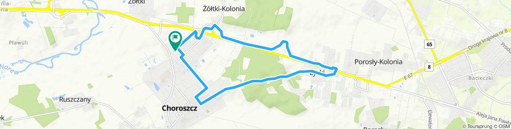 Easy ride in Choroszcz