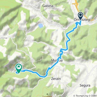 Vía Verde Mutiloa - Ormaiztegi