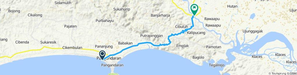 Java-Bali 04, Indonesia, Pangandara - Kalipucang, 18 km