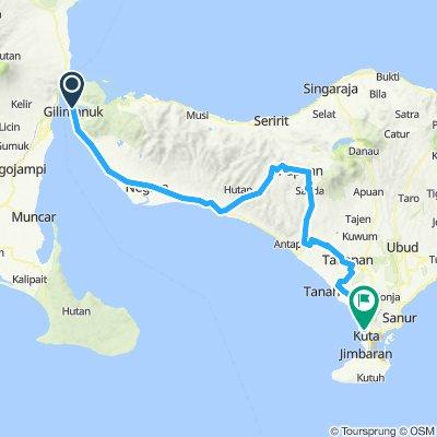 Java-Bali 07, Indonesia, Gilimanuk - Kuta, 169 km