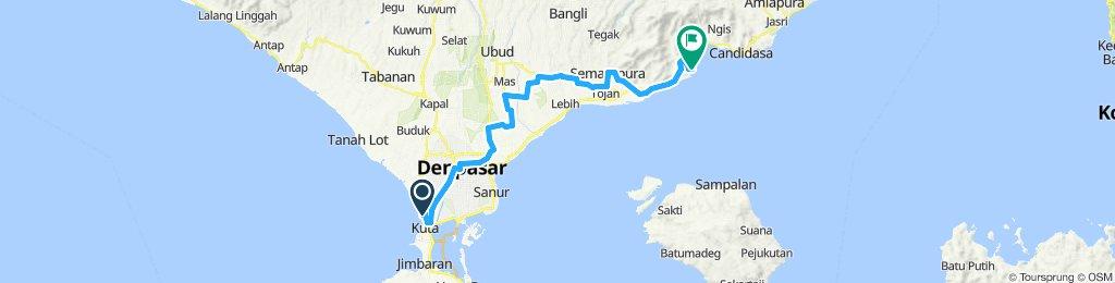 Java Bali 08 Indonesia Kuta Padangbai 66 Km Bikemap