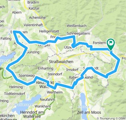 Hüttenedt, Oberhofen, Reitsham, Babenham, Friedburg, Utzweih, Nößltal Pöndorf