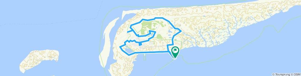 Schiermonnikoog 20km fietsen of wandelen