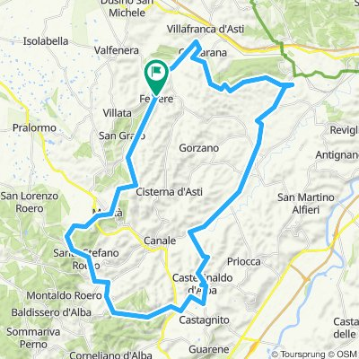 1° Giro Colline Alfieri e Roero A/R